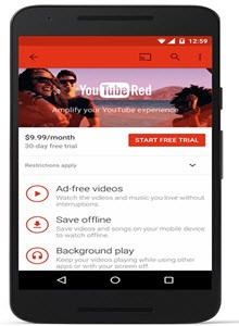 YouTube's Red Subscription Service