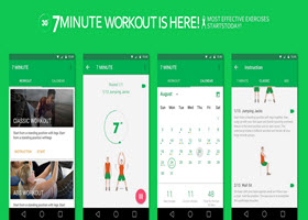 7 Minute Workout Challenge app for iOS